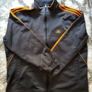 Adidas track warm up jacket size large